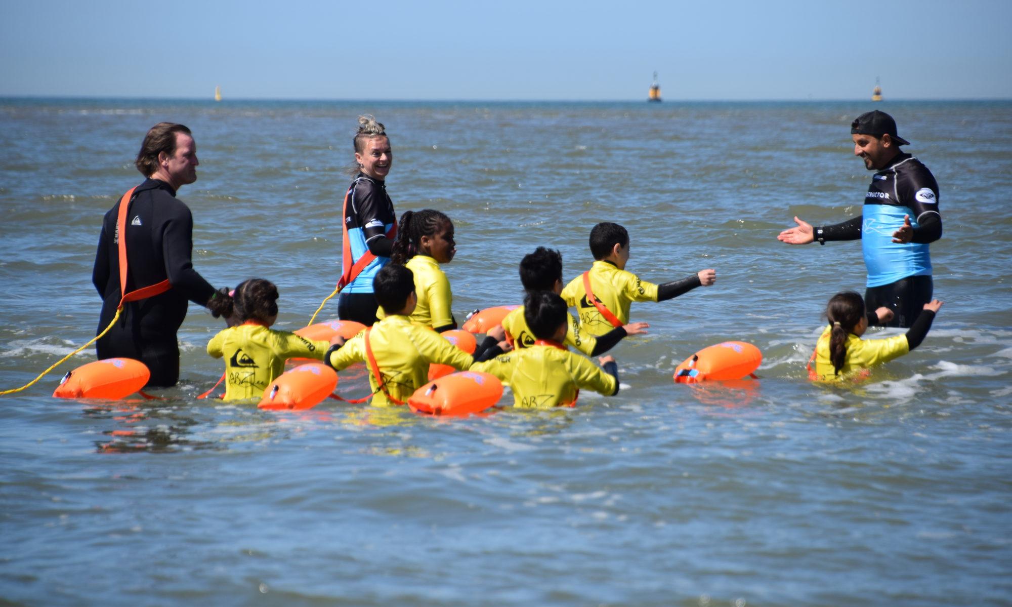 Veilig in zee